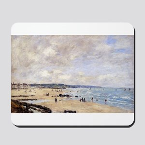 Eugene Boudin - Beach at Trouville Mousepad
