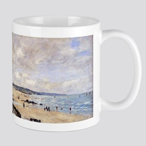 Eugene Boudin - Beach at Trouville Mugs