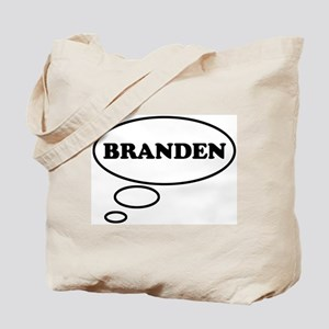 Thinking of BRANDEN Tote Bag