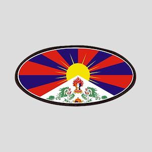 Tibetan Free Tibet Flag - Peu Rangzen Patch