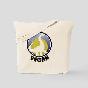 Vegan dinosaur Tote Bag