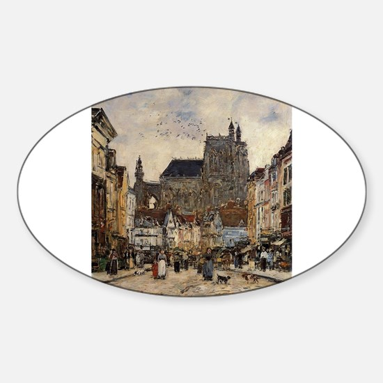 Eugene Boudin - Abbeville, Decal
