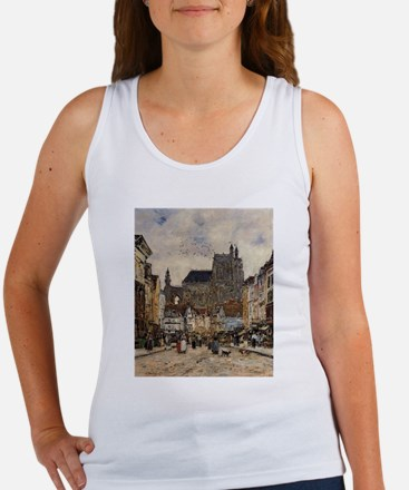 Eugene Boudin - Abbeville, Street and the Tank Top