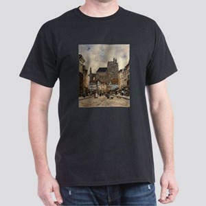 Eugene Boudin - Abbeville, Street and the T-Shirt