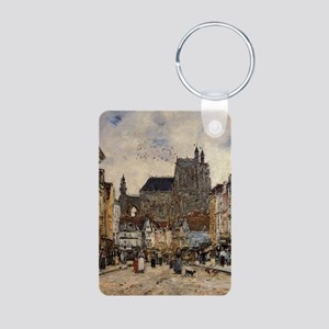 Eugene Boudin - Abbeville, Street and th Keychains