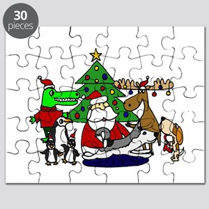Christmas Santa and Friends Puzzle