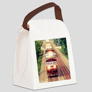 Railroading Canvas Lunch Bag