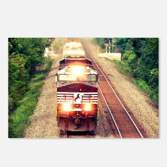 Railroading Postcards (Package of 8)