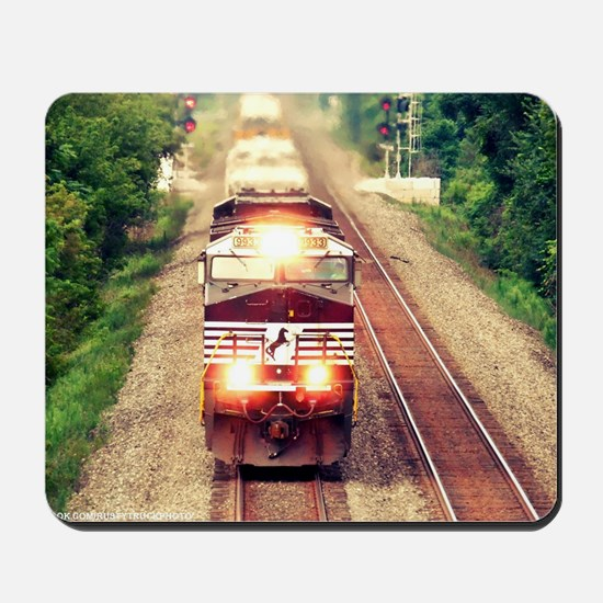 Railroading Mousepad