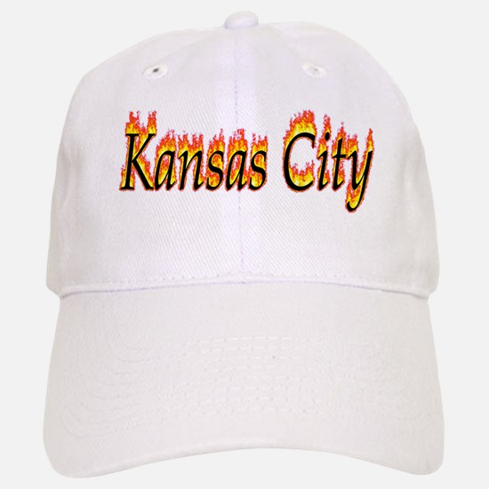 Kansas City Flame Baseball Baseball Baseball Cap