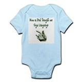 Baby boy sign language Bodysuits