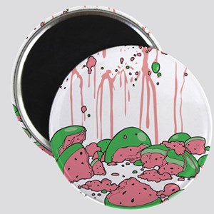 Smashed Watermelon Magnets