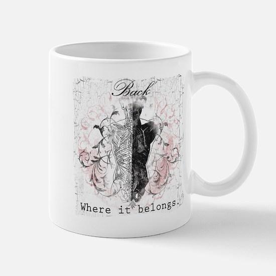 Back Where it Belongs Large Mugs