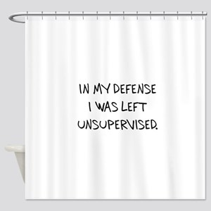 UNSUPERVISED Shower Curtain