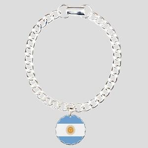Argentinian pride argent Charm Bracelet, One Charm