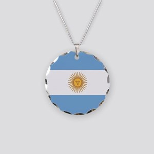 Argentinian pride argentina Necklace Circle Charm