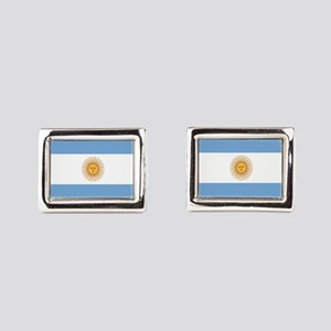 Argentinian pride argentina Rectangular Cufflinks