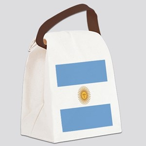 Argentinian pride argentina flag Canvas Lunch Bag