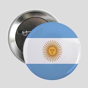 "Argentinian pride argentina flag 2.25"" Button"