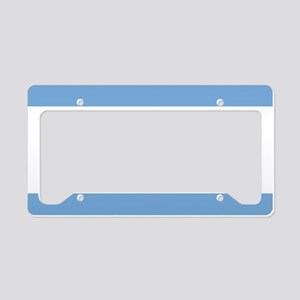 Argentinian pride argentina f License Plate Holder