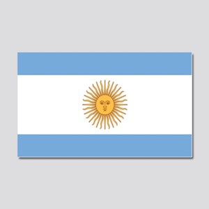 Argentinian pride argentina fla Car Magnet 20 x 12