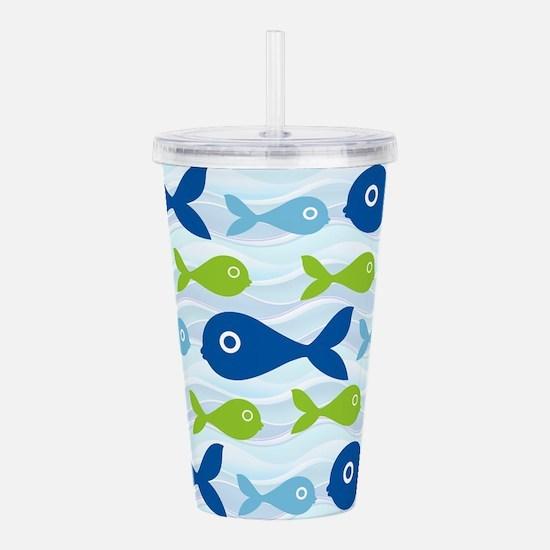 Big Eyed Fish Acrylic Double-wall Tumbler