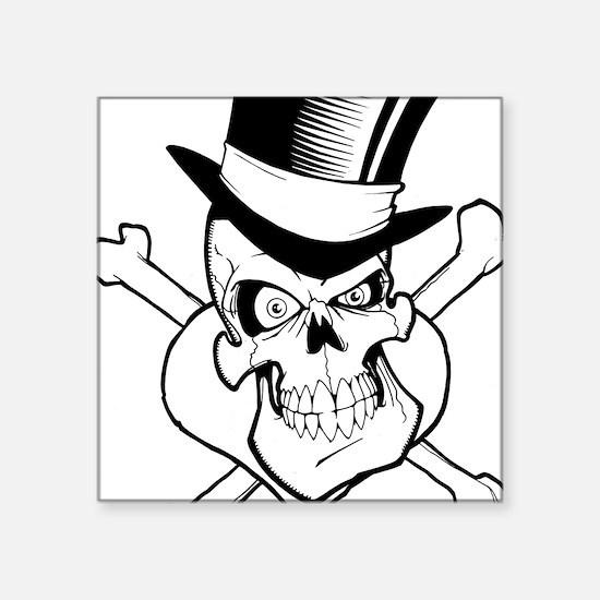 TophatSkull Sticker