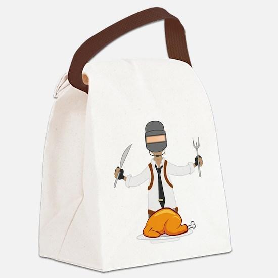 Cute Winner winner chicken dinner Canvas Lunch Bag