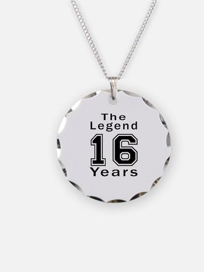 16 Legend Birthday Designs Necklace