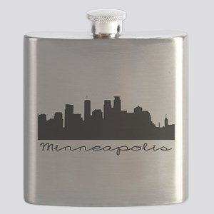 Minneapolis Skyline Flask