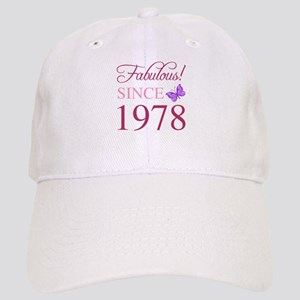 1978 Fabulous Birthday Cap