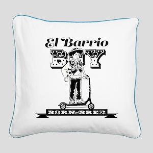 El Barrio Boy Square Canvas Pillow