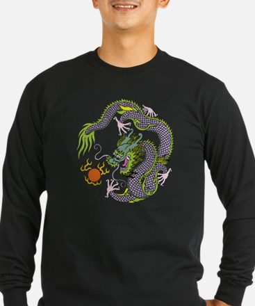 Colorful Chinese Dragon C T