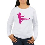 Karate Girl Long Sleeve T-Shirt