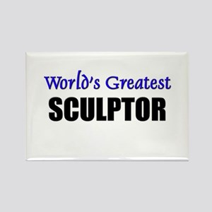 Worlds Greatest SCULPTOR Rectangle Magnet