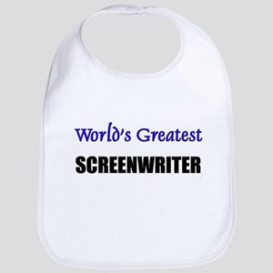 Worlds Greatest SCREENWRITER Bib
