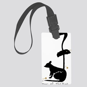 Year of the Rat - Chinese Zodiac Large Luggage Tag