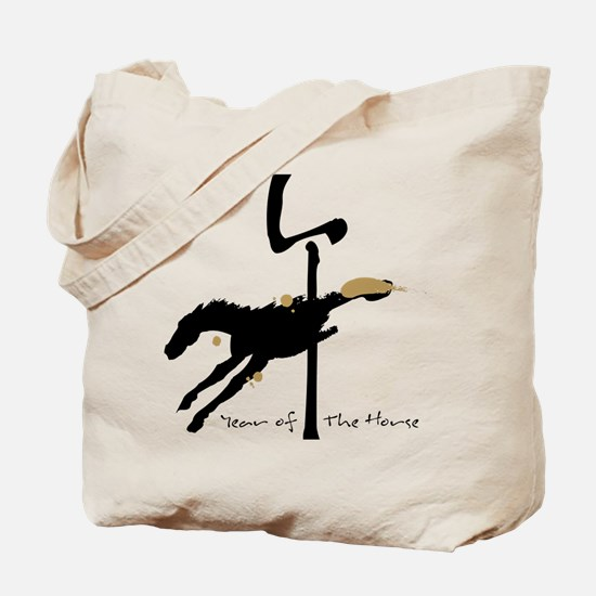 Year of the Horse- Chinese Zodiac Tote Bag