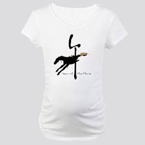 Year of the Horse- Chinese Zodia Maternity T-Shirt