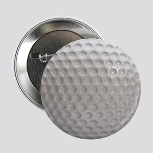 "Golf Ball Sport 2.25"" Button"