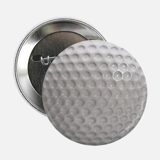 """Golf Ball Sport 2.25"""" Button"""