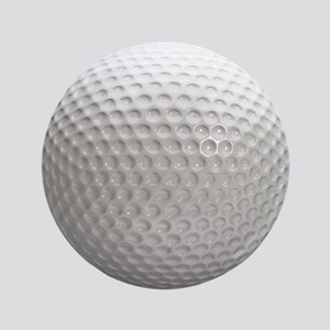 """Golf Ball Sport 3.5"""" Button"""