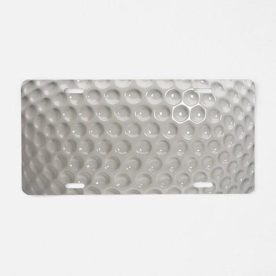 Golf Ball Sport Aluminum License Plate