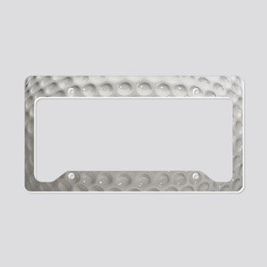 Golf Ball Sport License Plate Holder