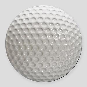 Golf Ball Sport Round Car Magnet
