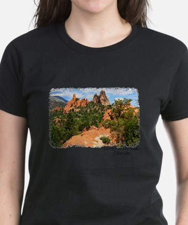 Garden of the Gods Women's Dark T-Shirt