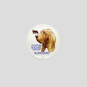 BLOODHOUND Mini Button