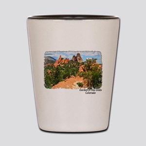 Garden of the Gods Shot Glass