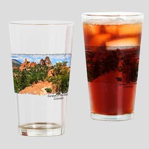 Garden of the Gods Drinking Glass