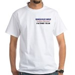 Missouri Bullet White T-Shirt